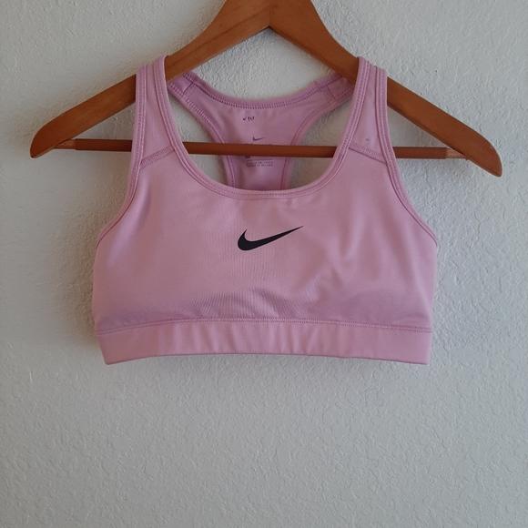 Nike Intimates Sleepwear Drifit Light Pink Padded Sport Bra Poshmark